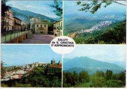 Saluti Da S.Cristina D'Aspromonte. (RC). VG. - Reggio Calabria