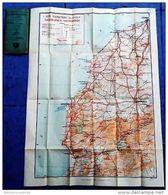 Carte GEOGRAPHIQUE DE L'ARMEE < CASABLANCA- MARRAKECH 1932 - Geographical Maps