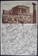 ATHENES Parthenon Gel. 1898 N. Neuchâtel Suisse - Grèce