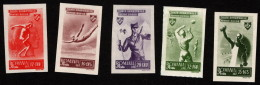ROM SC #B284-8 MH 1945 Sports CV $10.00 (if NH) - Unused Stamps