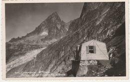 C P A ......HAUTE  SAVOIE.....CHAMONIX..MONT BLANC.....REFUGE DE LESCHAUX ET  AIG. DU MOINE - Chamonix-Mont-Blanc