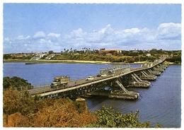 KENYA : MOMBASA - NYALI FLOATING BRIDGE - Kenya