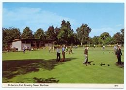 RENFREW : ROBERTSON PARK BOWLING GREEN - Renfrewshire