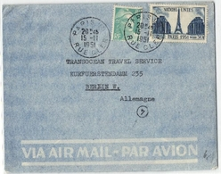 Beleg Aus Paris 1951 (431657) - France