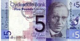 Scotland P.229l 5 Pounds 2009 Unc - [ 3] Scotland