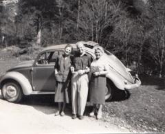 Foto, VW Mit Fetzendach, Fotofomat Ca.11,7 X 9,5 Cm - Automobile