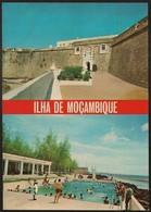 Postal Moçambique Portugal - Ilha De Moçambique - Fortaleza De S. Sebastião E Piscina Municipal - CPA - Postcard - Mozambique