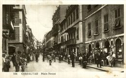 GIBRALTAR - Main Street - Gibraltar