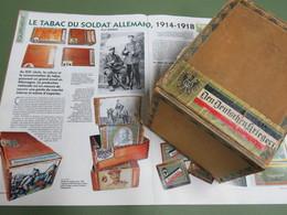 BOITE DE CIGARES DE GUERRE ALLEMAND 1915/18 !!! - 1914-18