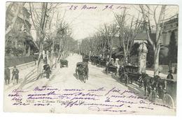 NICE L'avenue Victor-Hugo - Circulée 1904 - Bon état - Nizza