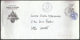 France Hunawihr 1989 / Commune De Hunawihr / Coat Of Arms / Church - 1961-....