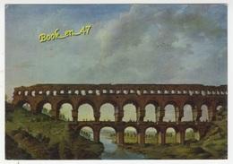 {56636} 30 Gard Le Pont Du Gard, Musée Du Vieux Nîmes , Peinture Anonyme XVIIè Siècle - France