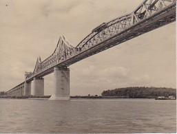 Foto Eisenbahnbrücke über Einen Fluss - 1941 - 8*6cm (35222) - Luoghi