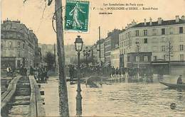 PIE18-BE-3354 : BOULOGNE-SUR-SEINE. INONDATION 1910. ROND-POINT. - Boulogne Billancourt