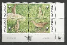 MOLDOVA - MNH - Animals - Birds - WWF - Other