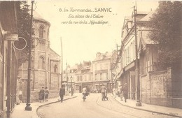 Sanvic - La Place De L'église Vers La Rue De La République - Altri Comuni