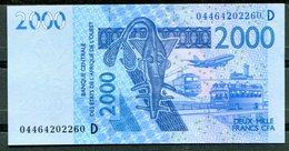 BCEAO - 2000 Francs CFA - 2003 - Lettre D (Mali) - (Etat Neuf-UNC) - États D'Afrique De L'Ouest
