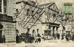 The Exchange, Partial Scene, GIBRALTAR MOROCCO AGENCIES STAMP - Gibraltar