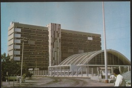 Postal Moçambique Portugal - Beira - Estação De Comboios C. F. B. - Railway Station - CPA - Postcard - Mozambique