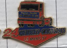 Pin's Camion Poids Lourd Truck 24 Heures Le Mans 1997 - Transportation