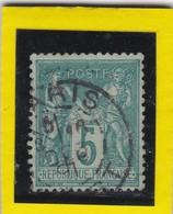 SAGE N° 75 TYPE IIB  BUREAU DE PARIS     - REF ACDIV - 1876-1898 Sage (Type II)