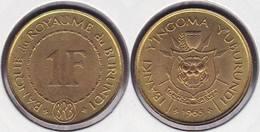 BURUNDI 1 FRANC 1965 - Burundi