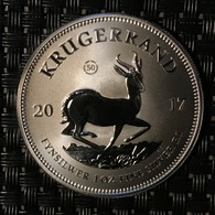 """South Africa - Krugerrand 2017  """"50th Aniversary"""" - Cambodge"""