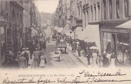 CPA Boulogne Sur Mer, La Rue Thiers (pk47186) - Boulogne Sur Mer