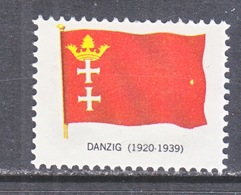 DANZIG  FLAG    * - Danzig