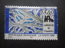 France N°3021 CATHEDRALE DeCHAMBERY Oblitéré - Kerken En Kathedralen