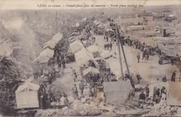 CPA Lens En Ruines, Grand'place. Jour De Marché (pk47194) - Lens
