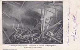 CPA Catastrophe De Courrières, Découverte De Victimes Dans Une Galerie (pk47210) - France