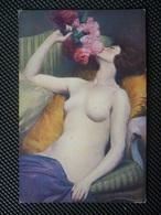CPA Non écrite -  Jeanne Charlotte PHILIPPAR QUINET Le Bouquet - Gemälde