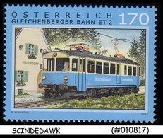 AUSTRIA - 2016 RAILWAY LOCOMOTIVE / TRAINS - 1V-  MINT NH - Trains