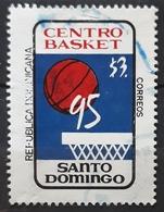 "REPÚBLICA DOMINICANA 1995 ""Centrobasket"" Basketball Championship, Santo Domingo. USADO - USED. - República Dominicana"