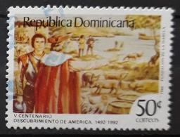 REPÚBLICA DOMINICANA 1986 The 500th Anniversary (1992) Of The Discovery Of America. USADO - USED. - República Dominicana