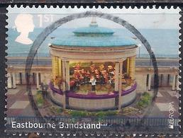 GB 2014 QE2 1st Class Seaside Architecture Used Stamp  SG 3635 ( D1129 ) - 1952-.... (Elizabeth II)