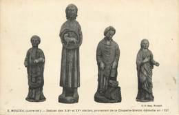 "CPA FRANCE 44 ""Mouzeil, Statues"" - France"