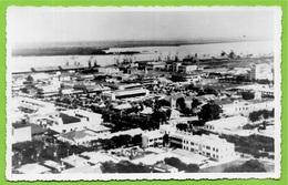 CARTE PHOTO Foto Post Card Africa Angola LUANDA ° Gevaert * Port Harbor Harbour - Angola