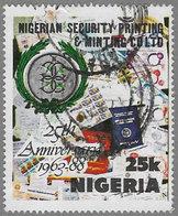 Nigeria SG570 1988 Nigerian Security Printing & Minting Co 25k Good/fine Used [37/30973/1D] - Nigeria (1961-...)
