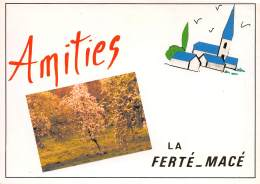 Amities LA FERTE MACE 18(scan Recto-verso) MA985 - La Ferte Mace