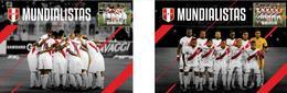 Peru 2018 FIFA World Cup Russia 2018 Postcards / Postkarten - World Cup