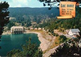 Orbey Le Lac Noir Sur La Route Des Cretes 1978 CPM Ou CPSM - Orbey