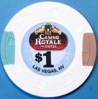 $1 Casino Chip. Casino Royale, Las Vegas, NV. E20. - Casino