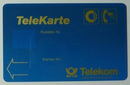 GERMANY - C Netz - T101 - TeleKarte - Dark Blue - Telekom - Used - Germany