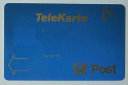 GERMANY - TeleKarte - Post - Wir Zeigen Zukunft - With Circle On Reverse - Used - Germany