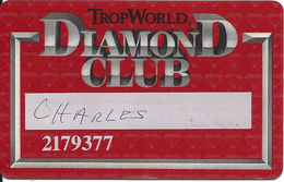 TropWorld Casino - Atlantic City NJ - 9a Issue Slot Card With SC952 - Casino Cards