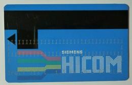 GERMANY - G&D - Siemens HICOM - Orga Test Print - 10.2.86 - Germany