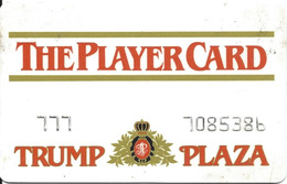 Trump Plaza Casino - Atlantic City NJ - Rare 1st Issue Slot Card - Casino Cards