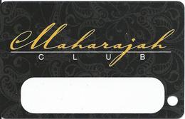 Trump Taj Mahal Casino - Atlantic City NJ - BLANK 11th Issue Slot Card - Missing Last Digit In Phone# - Casino Cards